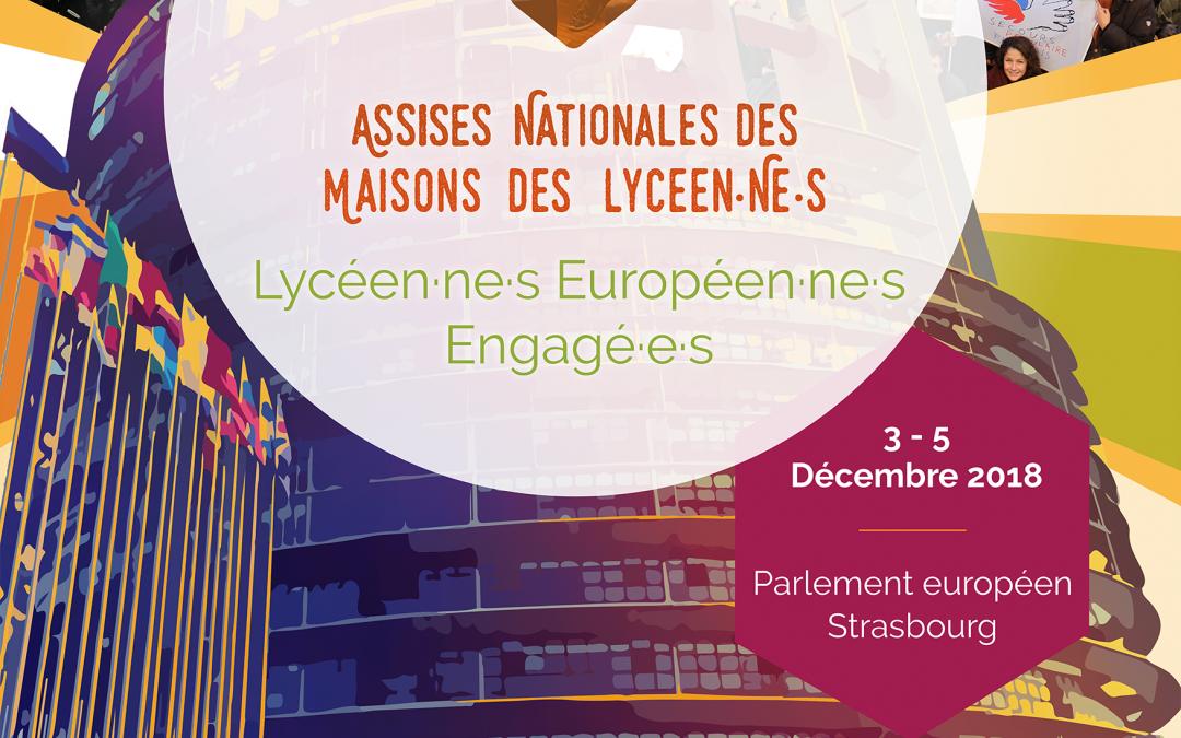 Assises nationales des MDL – Lycéen·ne·s européen·ne·s engagé·e·s