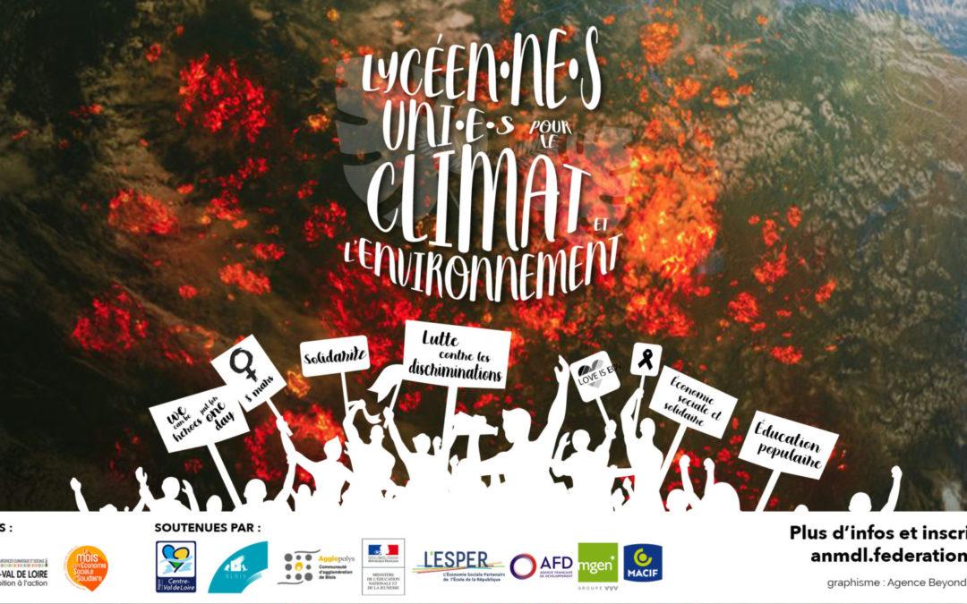 Assises nationales des MDL – Lycéen·ne·s uni·e·s pour le climat et l'environnement