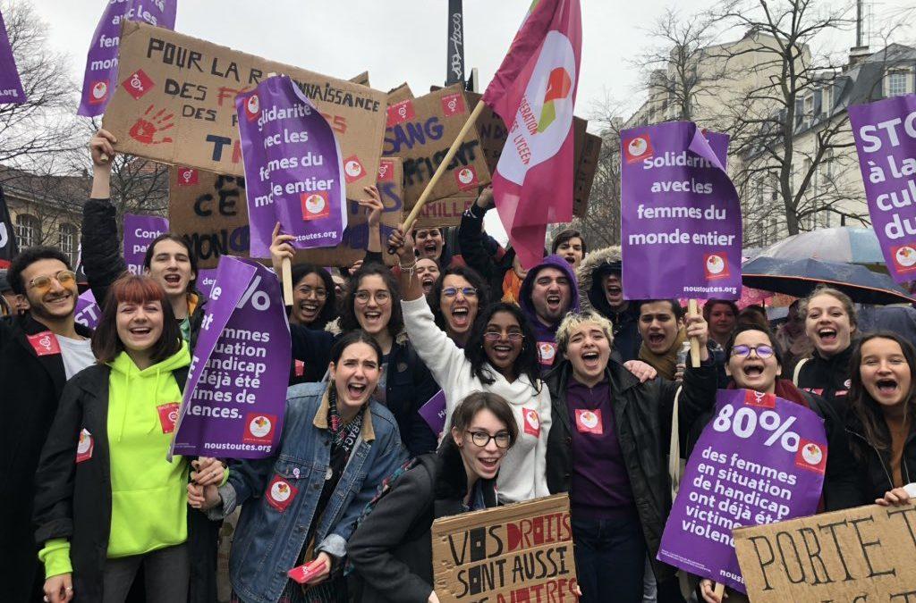Mobilisons-nous pour les droits des femmes !